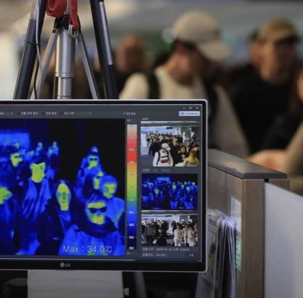 camera detection virus chaleur