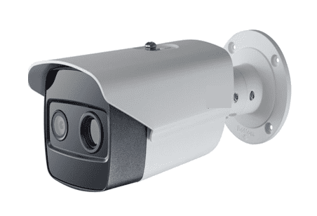 Camera thermique corporelle pour detection virus