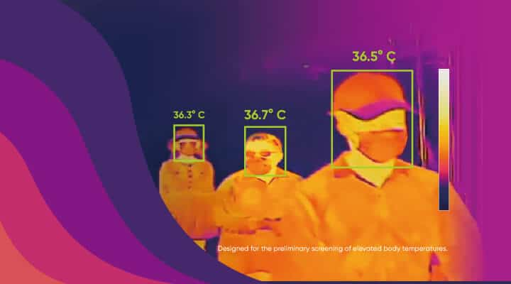 camera thermique corporelle détection covid